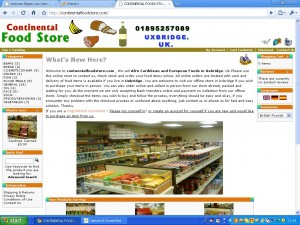 Continental Food Store Uxbridge UK